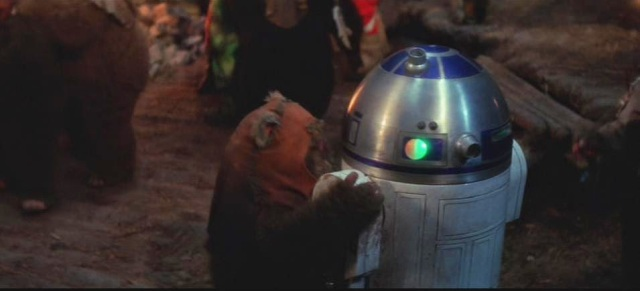 Image result for ewoks r2d2